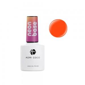 Цветная база ADRICOCO Neon base №03 - сладкий грейпфрут (8 мл.)