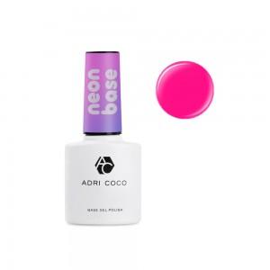 Цветная база ADRICOCO Neon base №04 - цветущая малина (8 мл.)