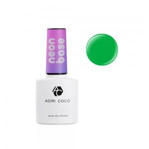 Цветная база ADRICOCO Neon base №06 - зеленое киви (8 мл.)