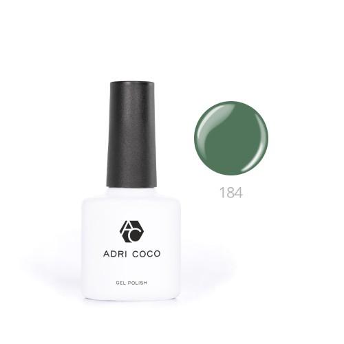 Гель-лак ADRICOCO №184 лесной зеленый (8 мл.)