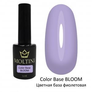 Цветная база Color Base BLOOM (фиолетовая) 12 мл.  Moltini