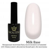 Камуфлирующая каучуковая база Moltini Milk Base, 12 mll