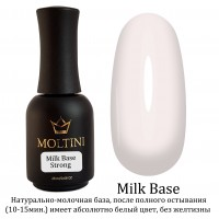Камуфлирующая каучуковая база Moltini Milk Base, 20 mll