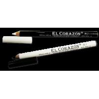 Каял (Кайал)-карандаш для подводки внутреннего века №1 Black El Corazon