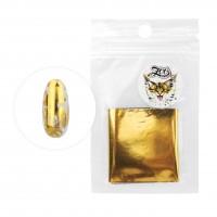 Фольга переводная 4*50 см 1416 глянцевая Золото