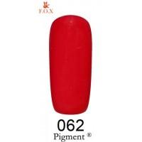 Гель-лак для ногтей F.O.X gel polish Pigment 12 мл.062 тон