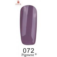 Гель-лак для ногтей F.O.X gel polish Pigment 12 мл.072 тон