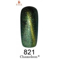 Гель-лак для ногтей F.O.X gel polish Chameleon 12 мл.821 тон