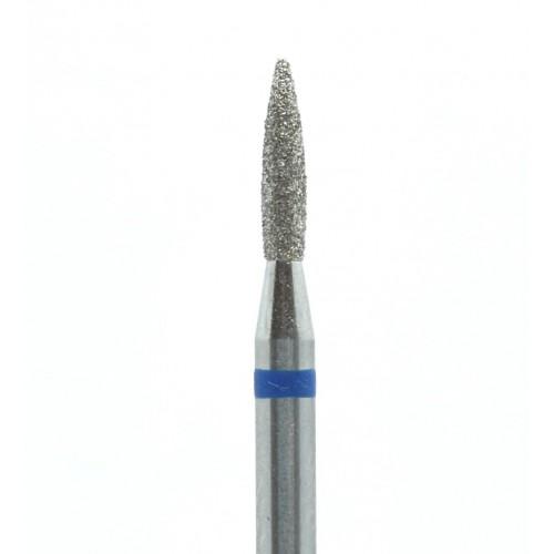 Фреза алмазная  243.018 ПЛАМЯ синяя насечка