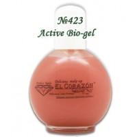 Натуральный активный БИО-ГЕЛЬ № 423  75 мл Active Bio-gel  El Corazon