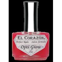 Средство для ускорения роста и омоложения ногтей №429, 16 мл Opti grow El Corazon