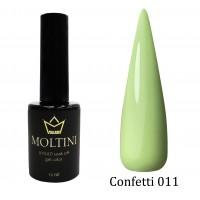 Гель-лак Moltini Confetti 011, 12 ml