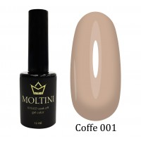 Гель-лак Moltini COFFE 001, 12 ml
