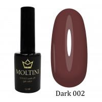 Гель-лак Moltini Dark 002, 12 ml