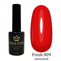 Гель-лак Moltini Fresh 009, 12 ml