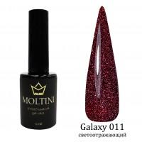 Гель-лак Moltini Galaxy 011,  12 ml