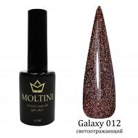 Гель-лак Moltini Galaxy 012,  12 ml