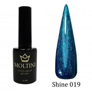 Гель-лак Moltini Shine 019, 12 ml