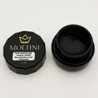 Гель-краска для тонких линий Moltini, черный 6 ml