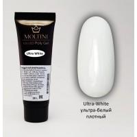 Полигель Moltini Ultra White (супер-белый), 18 гр