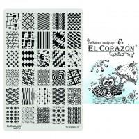 Пластины для стемпинга The Best Plates 04  El Corazon®