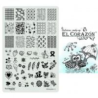 Пластины для стемпинга The Best Plates 05  El Corazon®