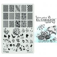 Пластины для стемпинга The Best Plates 07  El Corazon®