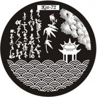 Диск для стемпинга №EC-s 72 Kaleidoscope®