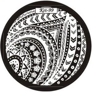 Диск для стемпинга №EC-s 99 Kaleidoscope®