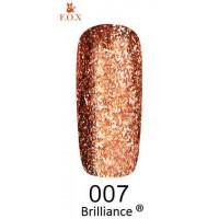 Гель-лак для ногтей F.O.X gel polish Brilliance 6 мл.007 тон